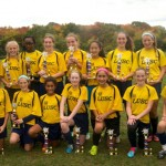 GU14 Fury/Blue Hawks Are Champions at Columbus Day Tournament