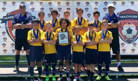 BU12 Boys wins State MTOC Division 1 Championship