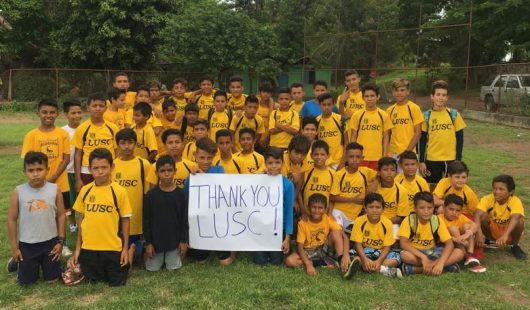 LUSC Supports Nicaragua Team