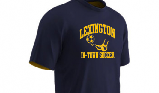 Shop for your in-town uniform and other soccer equipment!